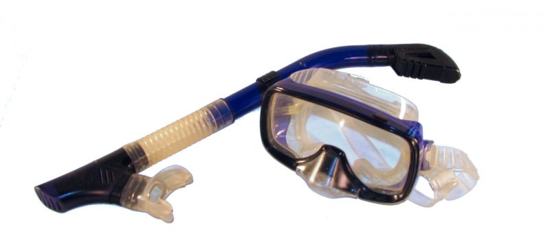 snorkelling set