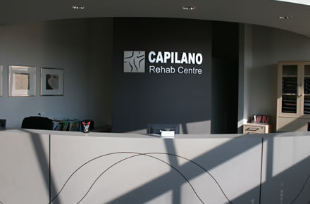 Capilano rehab Centre Reception