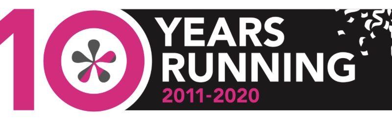 10 years running